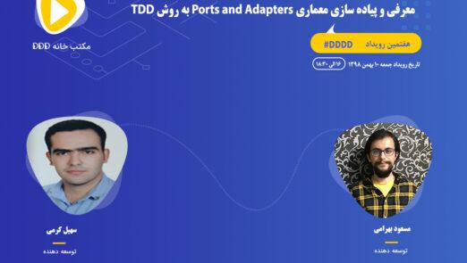 معرفی و پیاده سازی معماری Ports and Adapters به روش TDDD